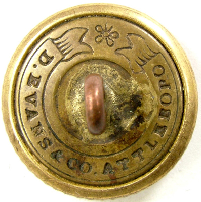 d evans & co  military buttons