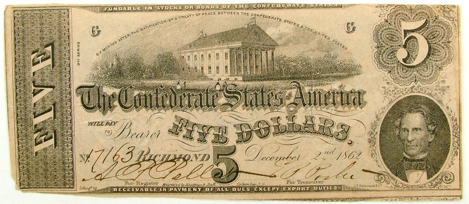 Currency of the Civil War